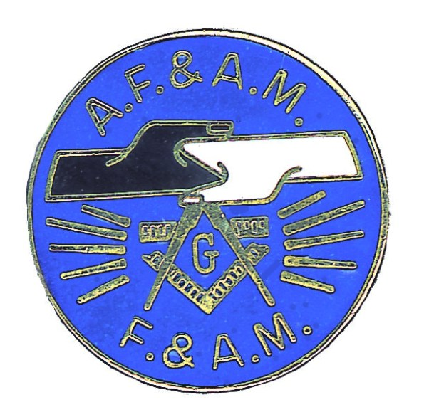 Old lapel pin commemorating the mutual recognition